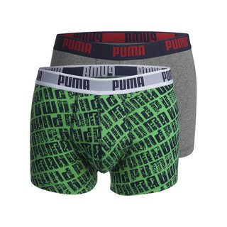 Puma Short 2-Pack City Map poison green