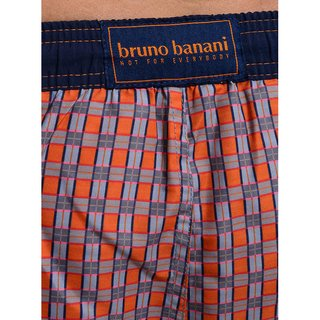 bruno banani Badeshort Tinseltown SWIM grau orange