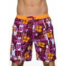bruno banani Badeshort Beach Party orange SWIM