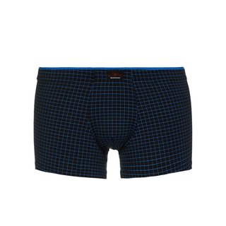 bruno banani Short Matrix schwarz blau