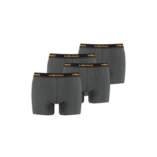 HEAD 4er Pack Boxer Short anthrazit dark shadow
