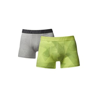 Puma 2er Pack Boxer Short The Wave grün glow