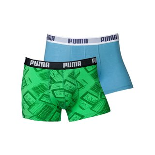 Puma Short 4-Pack time flies poison green