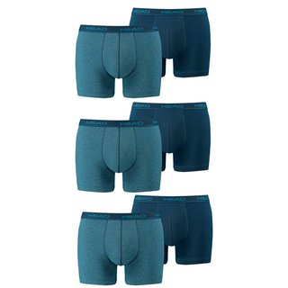 HEAD 6er Pack Boxer Short blue heaven 494