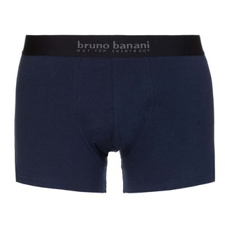 bruno banani 3er Pack Shorts Energy Cotton rot weiß navy 2754
