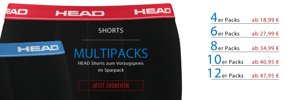 HEAD Multipacks